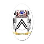 Van Velden 35x21 Oval Wall Decal