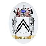 Van Velden Oval Ornament