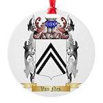 Van Nes Round Ornament