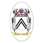 Van Nes Sticker (Oval 50 pk)