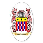 van Kooten Sticker (Oval 10 pk)