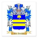 Van Houten Square Car Magnet 3