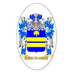 Van Houten Sticker (Oval 50 pk)