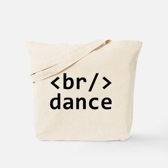 Breakdance Code Tote Bag