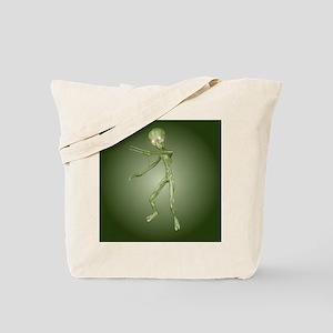 Green Alien Monster Tote Bag