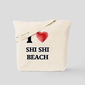 I love Shi Shi Beach Washington Tote Bag