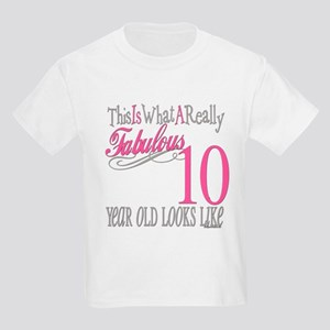 10th Birthday Gifts Kids Light T-Shirt