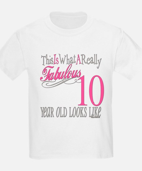 10th Birthday Gifts T-Shirt