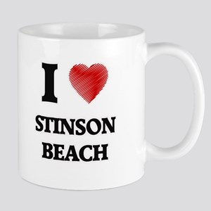 I love Stinson Beach California Mugs