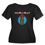 Party Like a Tiki God Women's Plus Size Scoop Neck