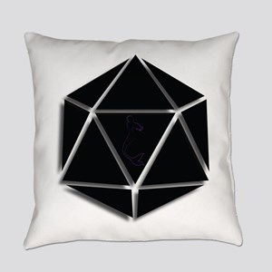 Mer Made Designs Logo Everyday Pillow