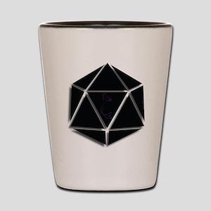 Mer Made Designs Logo Shot Glass