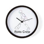 Roto Wall Clock