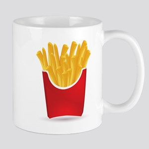 French fries art Mugs