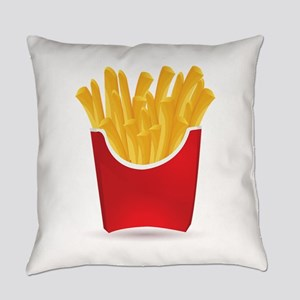 French fries art Everyday Pillow