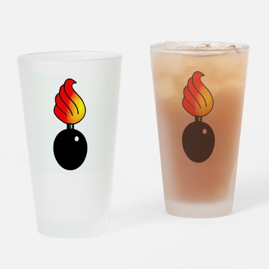 Ammo Piss Pot Drinking Glass