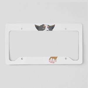 Australian cattle dog License Plate Holder