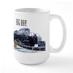 UP Big Boy Steam EngineLarge Mug