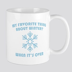 Favorite Thing About Winter Mug
