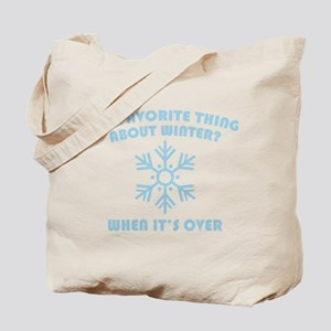 Favorite Thing About Winter Tote Bag
