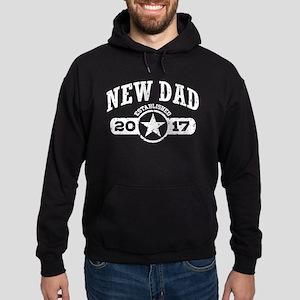 New Dad Est. 2017 Hoodie (dark)