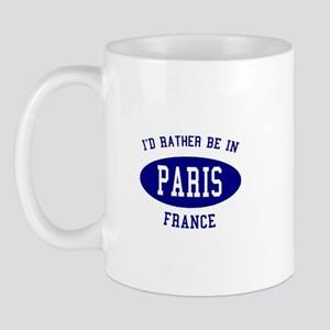 I'd Rather Be in Paris, Franc Mug