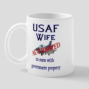 USAF Wife Authorized Mug