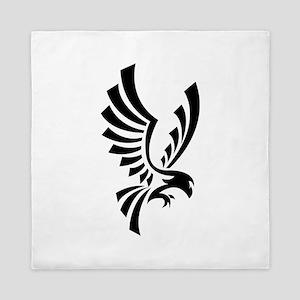 Eagle symbol Queen Duvet