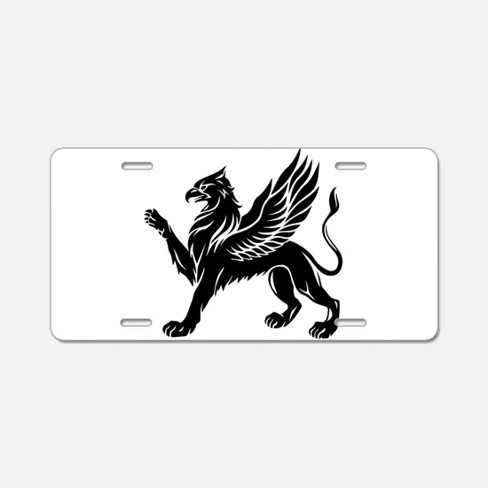 Griffin Aluminum License Plate