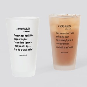 a word problem Drinking Glass