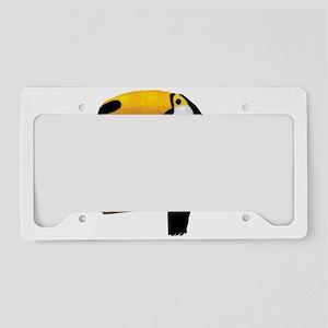 Toucan bird License Plate Holder