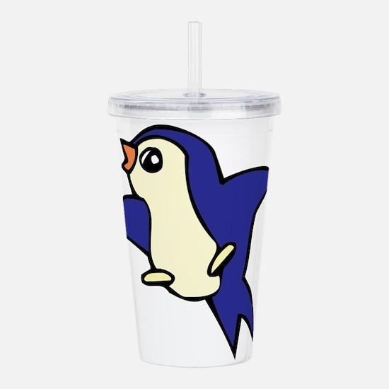 Cartoon birds Acrylic Double-wall Tumbler