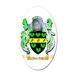 Van Eyk 35x21 Oval Wall Decal