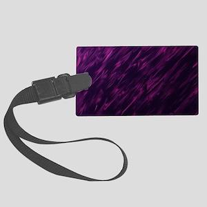 Purple power Large Luggage Tag