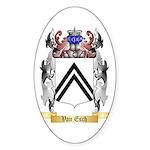 Van Esch Sticker (Oval 10 pk)