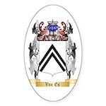 Van Es Sticker (Oval 10 pk)
