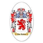 Van Dyken Sticker (Oval 10 pk)
