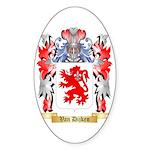 Van Dijken Sticker (Oval 10 pk)