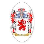 Van Dijken Sticker (Oval 50 pk)