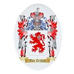 Van Dijken Oval Ornament