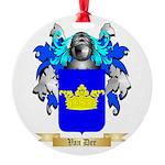 Van Der Round Ornament