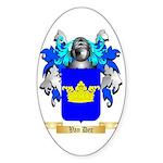 Van Der Sticker (Oval)