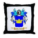 Van Der Throw Pillow