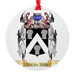 Van der Velde Round Ornament