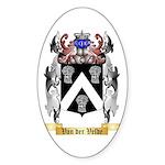 Van der Velde Sticker (Oval)