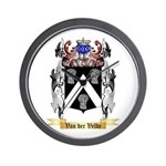 Van der Velde Wall Clock