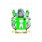 Van der Valk Sticker (Rectangle 10 pk)