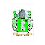 Van der Valk Sticker (Rectangle 50 pk)