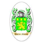 Van der Moeren Sticker (Oval 50 pk)