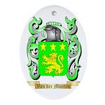 Van der Moeren Oval Ornament